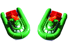 HOVER CRAFT WIND UP TOY-SET