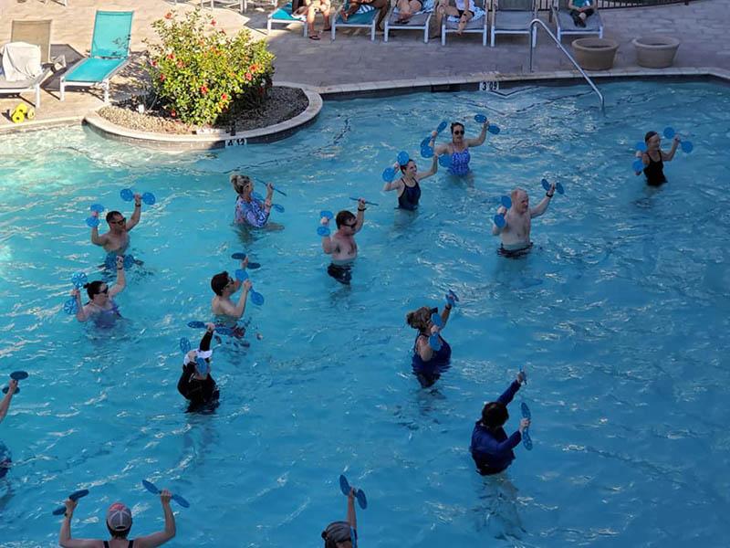 Water Aerobics Equipment To Enhance Your Training Water Walking Belt